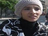 Manifestation contre la loi sur le Niqab