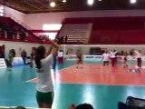 Ολυμπιακός - Παναθηναϊκός Ζέσταμα