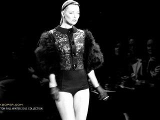 Louis Vuitton Fall Winter 2011 Show Backstage Video by Karen Kooper