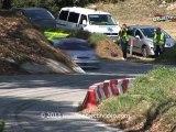 Course de Cote BAGNOLS-SABRAN 2011.Passage  exterieur.