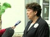 Roselyne Bachelot à Douarnenez sans Pierre Maille !