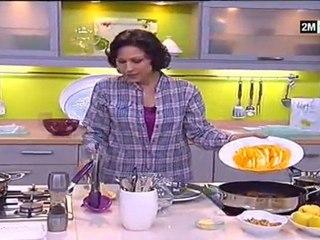 Recettes filet de veau riz basmati pomme au four caramélisée aux fruits secs