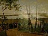 Inside Danish landscape paintings - painted around 1800...