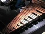 Concert de printemps 2001 : Concerto pour marimba et orchestre d'harmonie