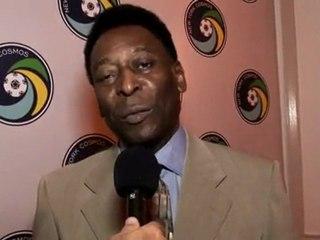 Pelé fala sobre a volta do New York Cosmos