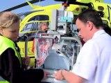 Vol EC 135: l'hélicoptère qui soigne