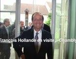 FRANCOIS HOLLANDE VISITE CHAMBLY