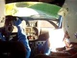 Rallye des monts du lyonnais 2011. Cam Embarquée ES1, AX GTI N1
