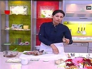 Choumicha Recettes - épaule d'agneau au champignon et seffa