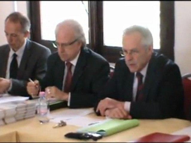 Conférence de presse du Service de coopération et d'action culturelle de l'Ambassade de France à Alger