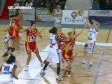 Le Nantes Rezé Basket bat Aix-en-Provence (Basket LFB)