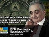 Jacques Attali et le Gouvernement Mondial sur BFM