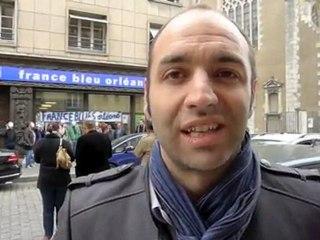 Grève à France Bleu Orléans