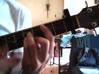 Visionnez les Cours Vidéo de Sherlock Holmes G�n�rique Cours de Guitare Accords Tab