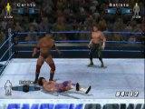 wwe smack down vs raw 2006 - batista vs carlito