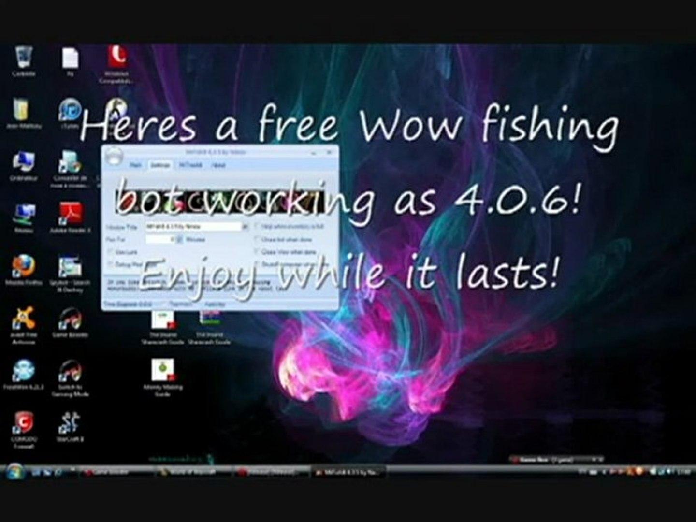 Free World of Warcraft Fishing Bot! Working as 4 0 6!