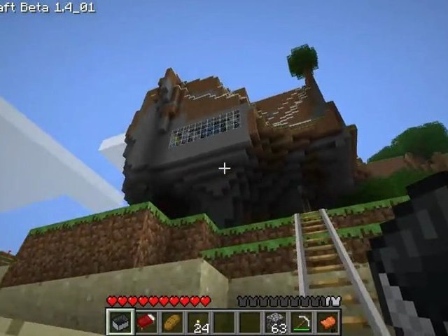 GamePlay : Minecraft 1.4 - Projets Solo