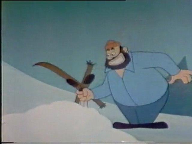 Mornar Popaj - Skijanje