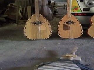 Yahya Challali le luthier du Djurdjura