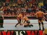Test, Billy Gunn and Raven vs Eddie Guerrero, Perry Saturn and Dean Malenko (RAW 4.16.2001)