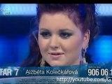 YouTube - Česko-Slovenská Superstar - Alžběta Kolečkářová - SMS (Lucie Bílá)