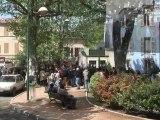 Gaz de schistes  -  manifestation à Brignoles 83