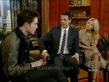 Robert Pattinson on Regis and Kelly