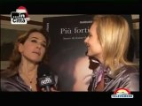 Barbara d'Urso intervistata da Televomero alla presentazione del suo libro a Napoli