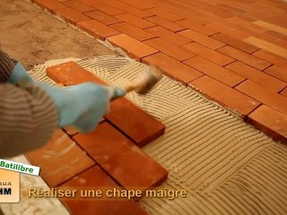 Chaux Boehm & Batilibre - Réaliser une chape maigre
