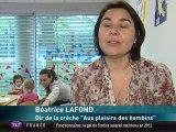 Les enfants déficients visuels ont leur crèche à Toulouse