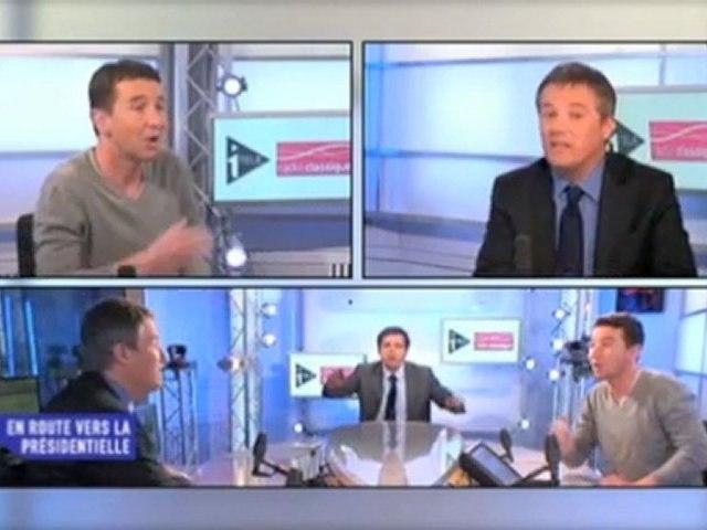 Dupont-Aignan, Olivier Besancenot et la mondialisation.