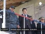 Exercices anti-émeute au kirghizistan - no comment