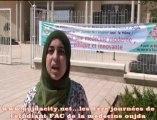 la 1ére journnée de l'etudiant  fac de medecine oujda /maroc