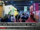 Comienza Feria Internacional del Libro de Buenos Aires