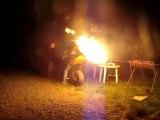 Bol d'or 2011 dans le camping >> Ruptures et Flammes !!!
