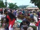 Afrique du sud marché africain de Manzini au Swaziland ( South Africa African market in Swaziland )