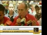 El dip. Juan Carlos Dugarte denunció malversación de fondos