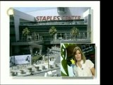 Ataúd de Michael Jackson llegó al Staples Center. La actriz