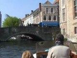 Belgique Découverte ville de Bruges et ses canaux ( Discovery Belgium city of Bruges and its canals )