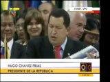 @globovision  Presidente Hugo Chavez anuncia creacion del Ba