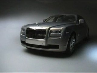 Rolls-Royce Motor Cars Unveils Ghost Extended Wheelbase at Auto Shanghai 2011