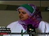 Civiles libios recuerdan momentos vividos durante bombardeos