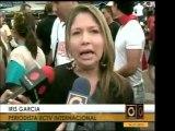 Trabajadores de RCTV se presentaron al juego Caracas - Magal