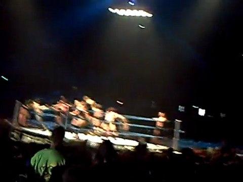 Royal Rumble - mise en route soirée WWE LIEVIN 22-04-2011