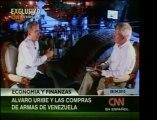 Pdte. de Colombia, Álvaro Uribe, habla acerca de la carrera