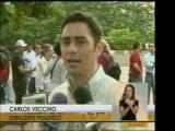 Miguel Enrique Otero y Carlos Vecchio declaran desde el acto