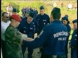 Comunità rom evacuata in Ungheria per raduno estrema destra
