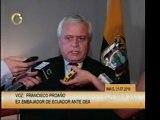 @globovision Entrevista al embajador de Ecuador ante la OEA