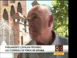 En Cataluña, España, se anularán las corridas de toros. Las