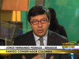 Acompañantes internacionales Jorge Pedraza y Jorge Ocejo se